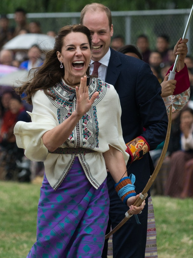 Kate Middleton and Prince William in Bhutan.