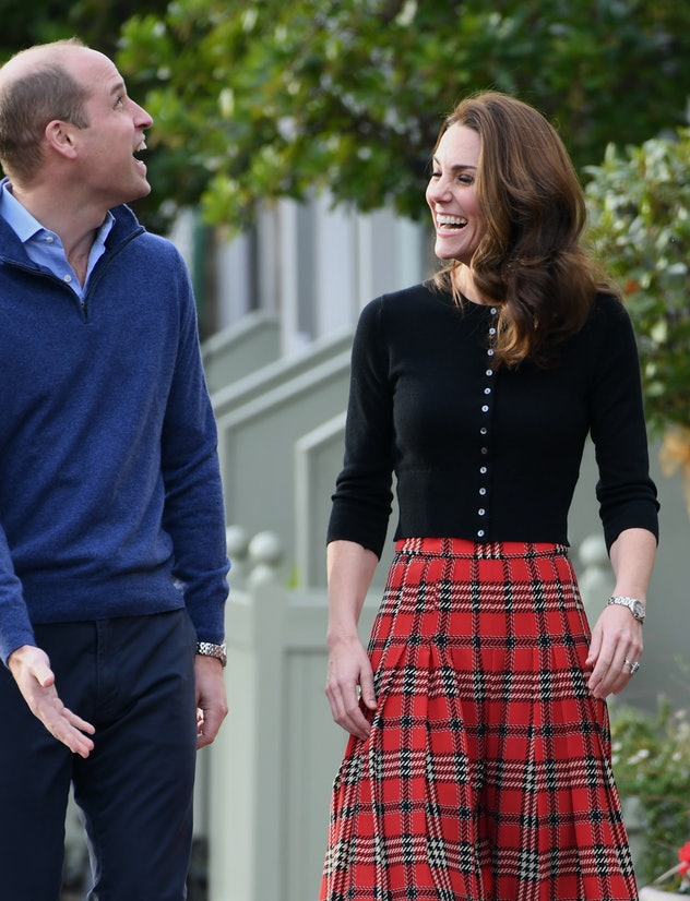 The Duke and Duchess of Cambridge in 2018.