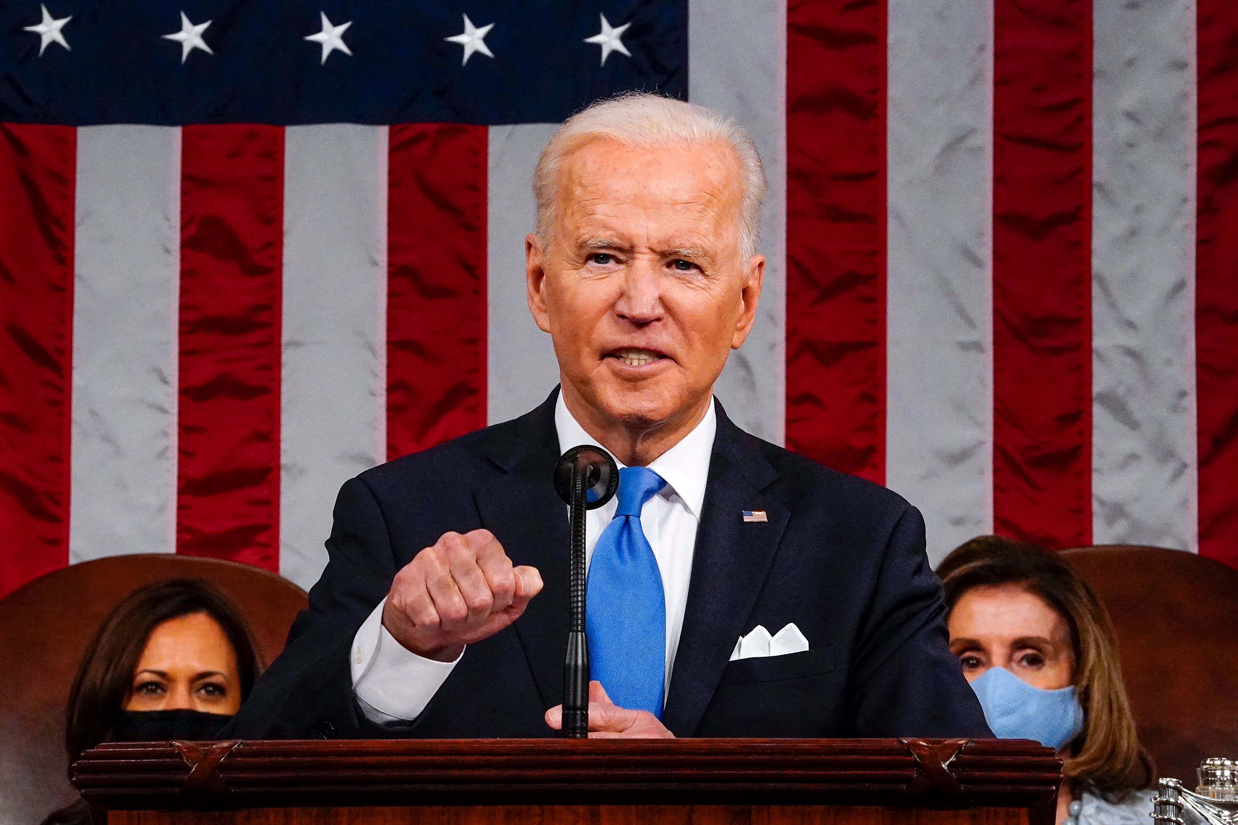 Biden's American Families Plan Includes Some Free College, Which, Wow