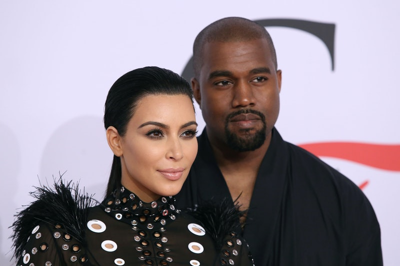 NEW YORK, NY - JUNE 01:  Kim Kardashian West and Kanye West attend the 2015 CFDA Awards at Alice Tully Hall at Lincoln Center on June 1, 2015 in New York City.  (Photo by Taylor Hill/FilmMagic)