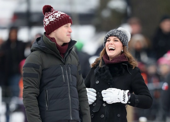 Prince William and Kate Middleton love to laugh.