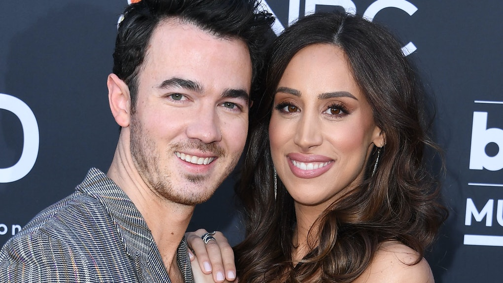 LAS VEGAS, NEVADA - MAY 01: 2019 Kevin Jonas and Danielle Jonas arrives at the Billboard Music Awards at MGM Grand Garden Arena on May 01, 2019 in Las Vegas, Nevada. (Photo by Steve Granitz/WireImage)