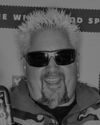 PHILADELPHIA, PENNSYLVANIA - MARCH 10: Restaurateur Guy Fieri attends a bottle signing of Santo Fino Tequila Blanco at Fine Wine & Good Spirits Premium Collection store on March 10, 2020 in Philadelphia, Pennsylvania. (Photo by Gilbert Carrasquillo/Getty Images)