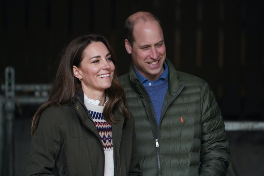 Kate Middleton wore a stunning diamond necklace in her anniversary photos.