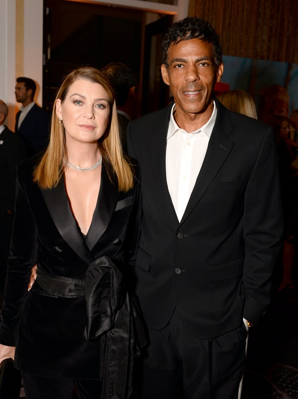 BEVERLY HILLS, CALIFORNIA - OCTOBER 02: (L-R) Ellen Pompeo and Chris Ivery attend Save The Children's Centennial Celebration: Once in a Lifetime at The Beverly Hilton Hotel on October 02, 2019 in Beverly Hills, California. (Photo by Andrew Toth/Getty Images for Save The Children)