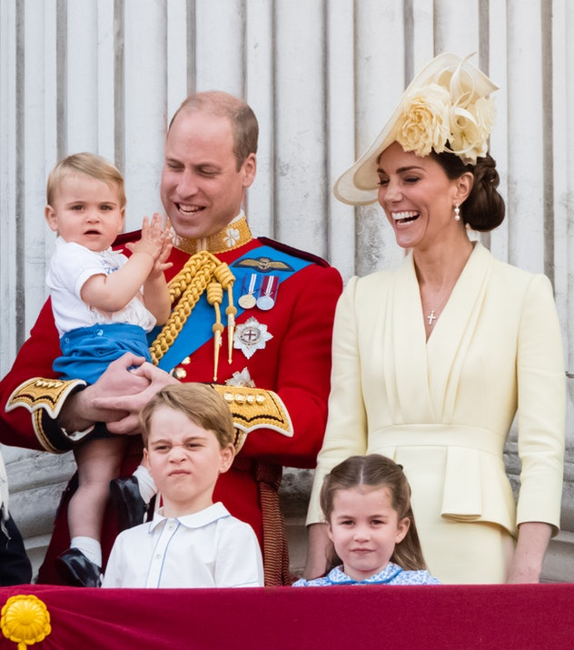 The Cambridges have passed on their hilarious genes.