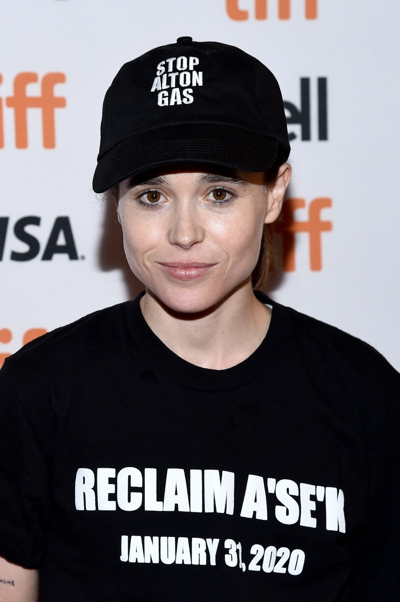 """TORONTO, ONTARIO - SEPTEMBER 08: Ellen Page attends the """"There's Something In The Water"""" premiere du..."""