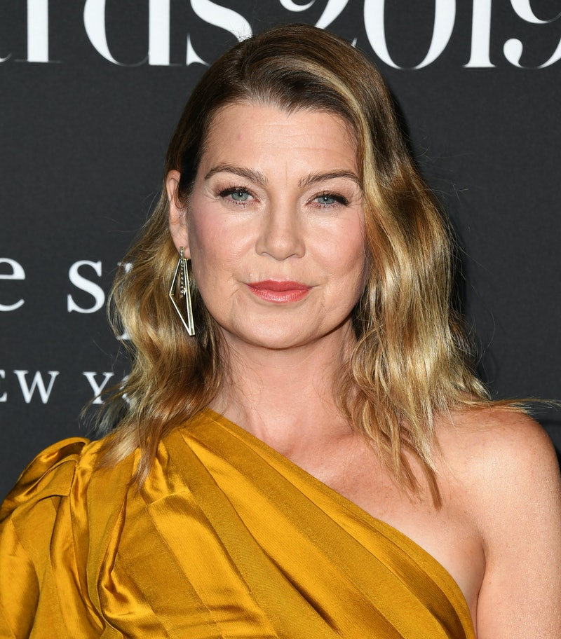 LOS ANGELES, CALIFORNIA - OCTOBER 21:  Ellen Pompeo attends the 2019 InStyle Awards at The Getty Center on October 21, 2019 in Los Angeles, California. (Photo by Jon Kopaloff/Getty Images)