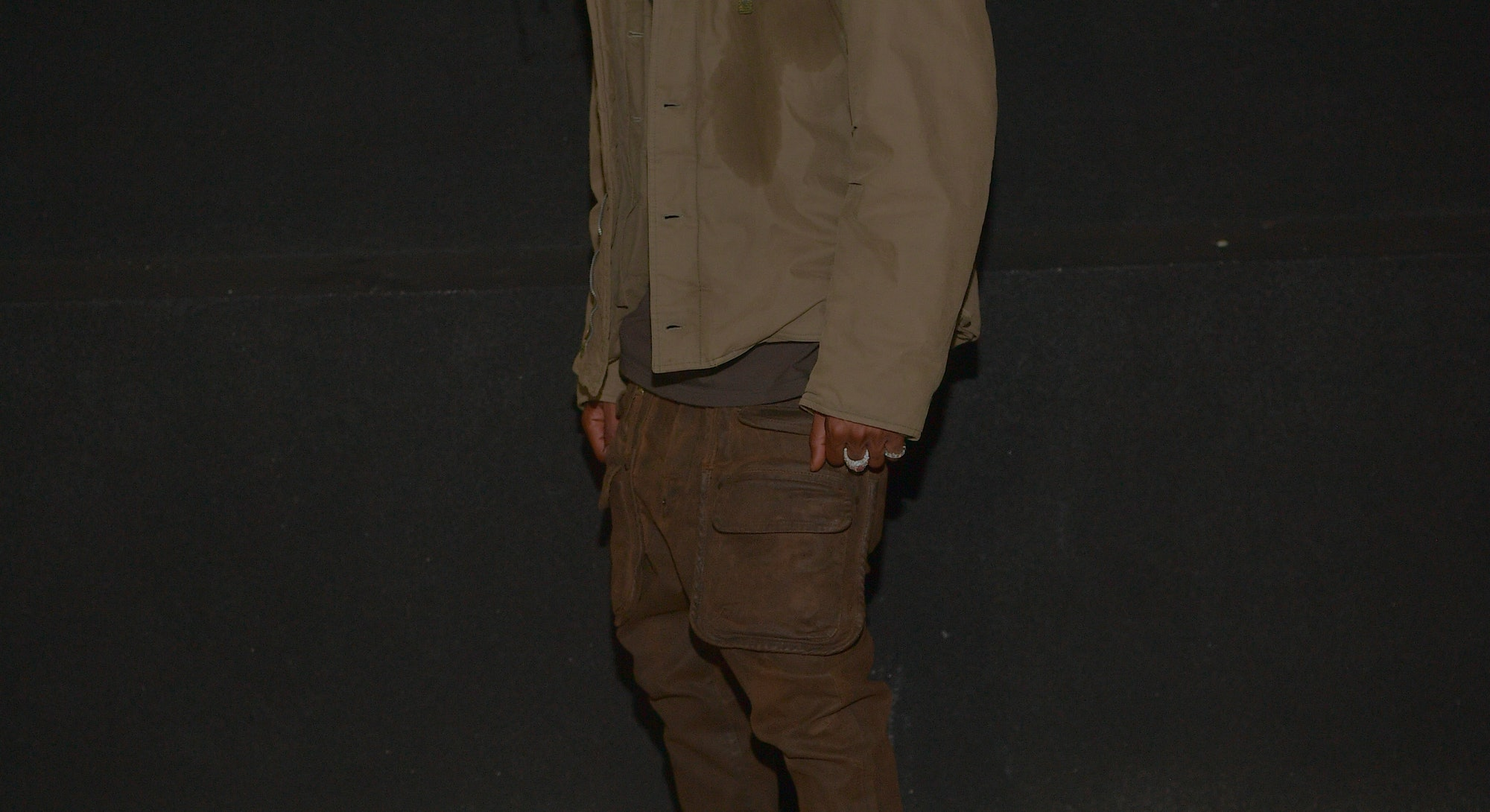 """ATLANTA, GA - OCTOBER 08: (EXCLUSIVE COVERAGE) Travis Scott attends the Travis Scott """"Franchise"""" celebration event at Republic Lounge on October 8, 2020 in Atlanta, Georgia.(Photo by Prince Williams/Wireimage)"""