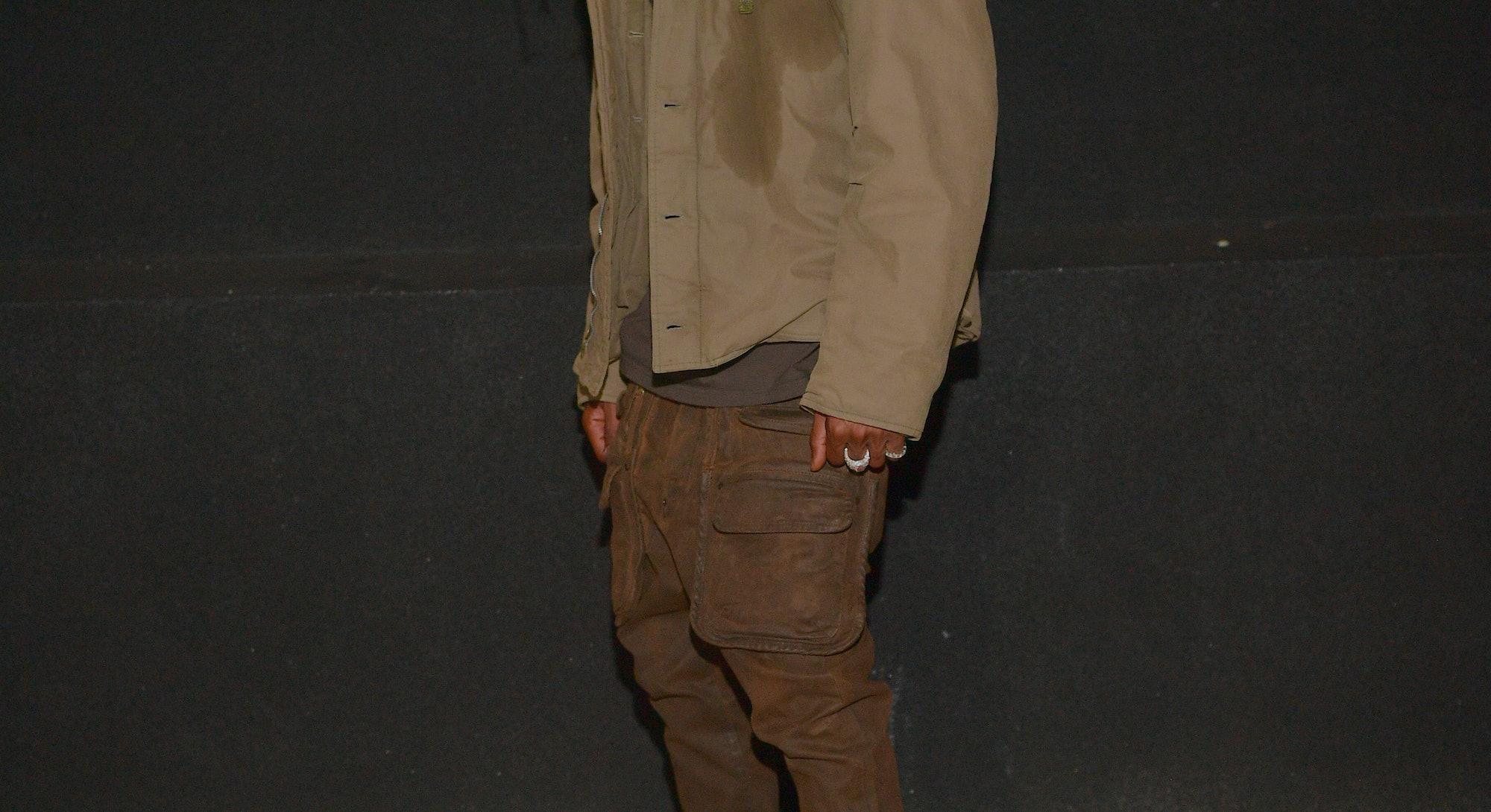 "ATLANTA, GA - OCTOBER 08: (EXCLUSIVE COVERAGE) Travis Scott attends the Travis Scott ""Franchise"" cel..."