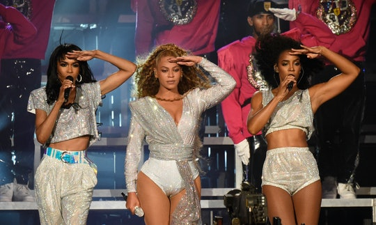 INDIO, CA - APRIL 21:  Michelle Williams, Beyonce Knowles and Kelly Rowland of Destiny's Child perfo...