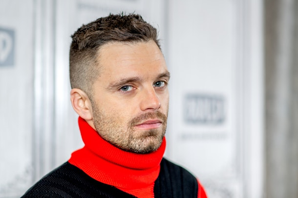 "NEW YORK, NEW YORK - JANUARY 21: Actor Sebastian Stan discusses ""Destroyer"" with the Build Series at Build Studio on January 21, 2019 in New York City. (Photo by Roy Rochlin/Getty Images)"