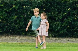 Carole Middleton loves to garden with her grandkids.