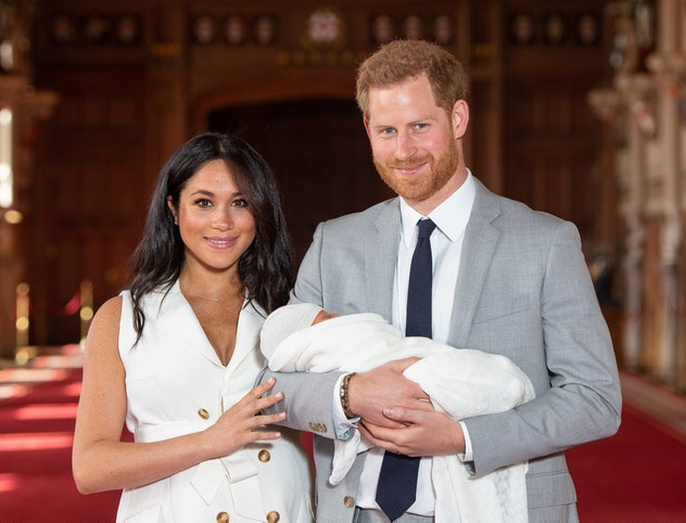 Meghan Markle and Prince Harry introduce Archie to the world.