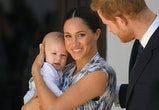 Meghan Markle and Prince Harry's son Archie is adorable.
