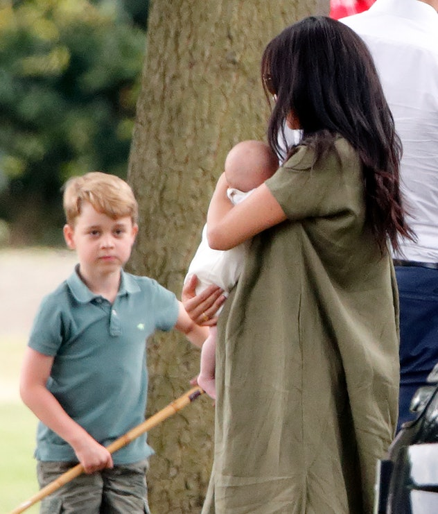 Meghan Markle brought Archie to a polo match.