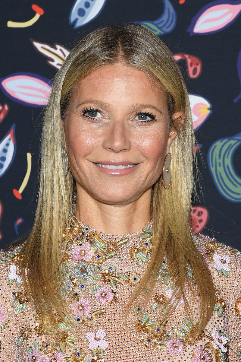 PARIS, FRANCE - FEBRUARY 26: (EDITORIAL USE ONLY) Gwyneth Paltrow attends the Harper's Bazaar Exhibi...