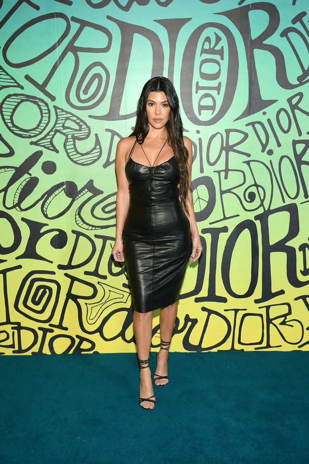 MIAMI, FLORIDA - DECEMBER 03: Kourtney Kardashian attends the Dior Men's Fall 2020 Runway Show on December 03, 2019 in Miami, Florida. (Photo by Dimitrios Kambouris/Getty Images for Dior Men)