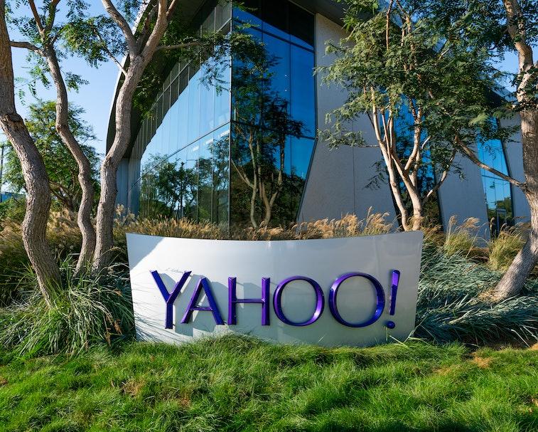 PLAYA VISTA, CA - OCTOBER 15: General views of the Yahoo Inc Playa Vista offices on October 15, 2020...