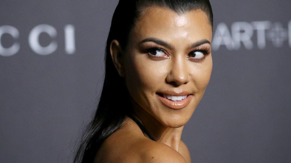 LOS ANGELES, CALIFORNIA - NOVEMBER 03: Kourtney Kardashian attends the 2018 LACMA Art + Film Gala held at LACMA on November 03, 2018 in Los Angeles, California. (Photo by Michael Tran/FilmMagic)