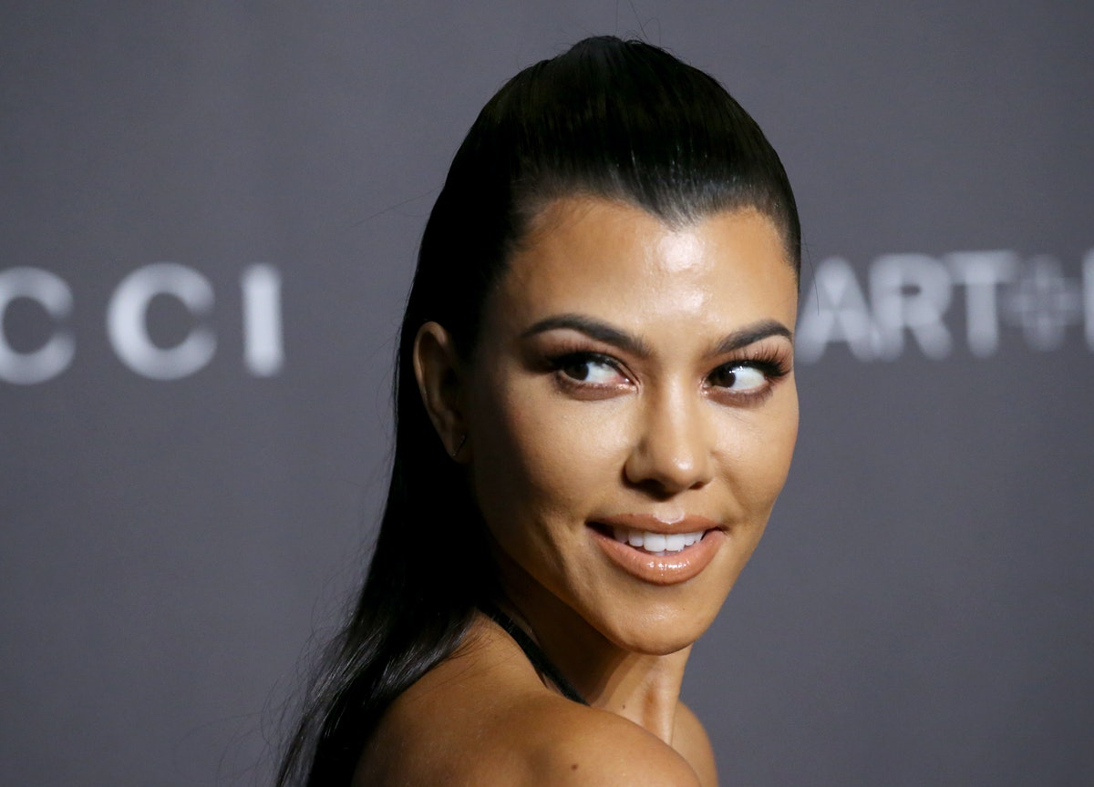 LOS ANGELES, CALIFORNIA - NOVEMBER 03: Kourtney Kardashian attends the 2018 LACMA Art + Film Gala he...
