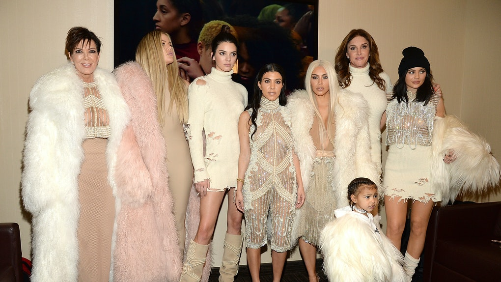 NEW YORK, NY - FEBRUARY 11:  Khloe Kardashian, Kris Jenner, Kendall Jenner, Kourtney Kardashian, Kim Kardashian West, North West, Caitlyn Jenner and Kylie Jenner attend Kanye West Yeezy Season 3 at Madison Square Garden on February 11, 2016 in New York City.  (Photo by Kevin Mazur/Getty Images for Yeezy Season 3)