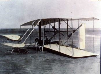 Wright Brothers' 1903 Flyer fabric now aboard the Mars Ingenuity helicopter