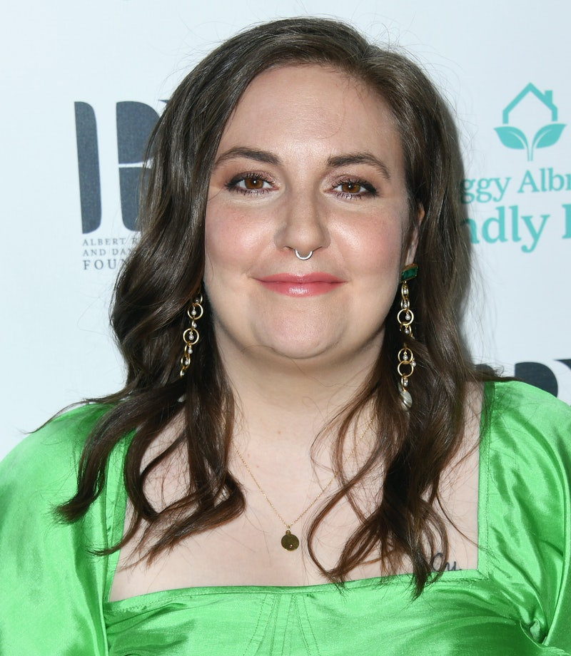 BEVERLY HILLS, CALIFORNIA - OCTOBER 26:  Lena Dunham attends Friendly House 30th Annual Awards Luncheon at The Beverly Hilton Hotel on October 26, 2019 in Beverly Hills, California. (Photo by Jon Kopaloff/Getty Images,)