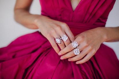 Junree Smollett Nails 2021 SAG Awards