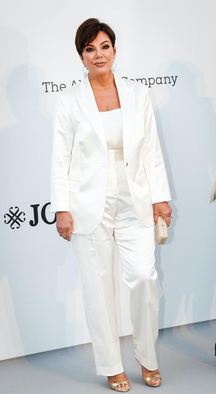 CAP D'ANTIBES, FRANCE - MAY 23: Kris Jenner attends the amfAR Cannes Gala 2019 at the Hotel du Cap-Eden-Roc on May 23, 2019 in Cap d'Antibes, France. (Photo by David M. Benett/Dave Benett/Getty Images)
