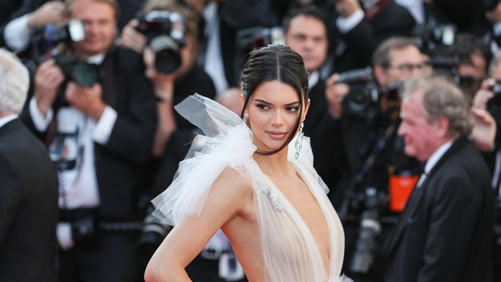 Kendall Jenner attends the screening of 'Girls Of The Sun' during the 71st annual Cannes Film Festival at Palais des Festivals on May 12, 2018 in Cannes, France.  (Photo by Visual China Group via Getty Images/Visual China Group via Getty Images)