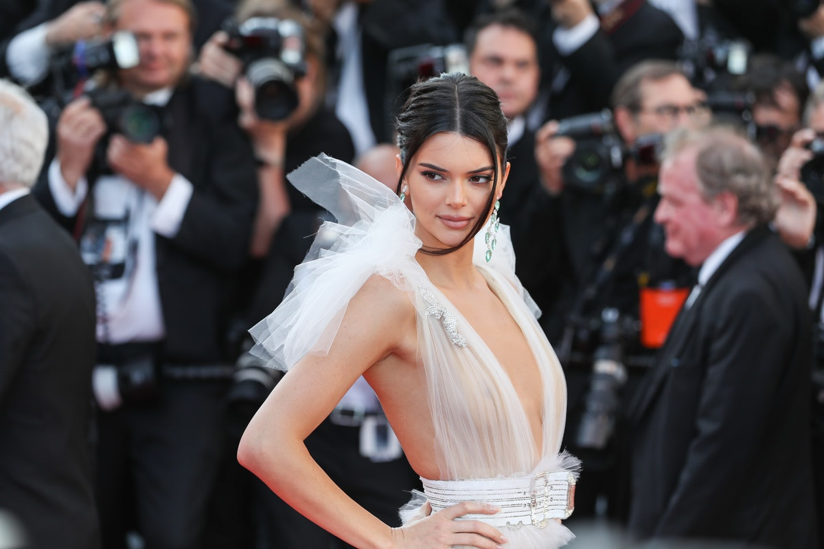 Kendall Jenner attends the screening of 'Girls Of The Sun' during the 71st annual Cannes Film Festiv...