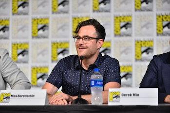 SAN DIEGO, CALIFORNIA - JULY 19:  Max Borenstein speaks at The Terror: Infamy Panel Comic Con 2019 o...
