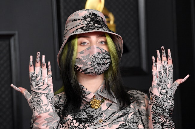 Billie Eilish attends the 63rd Annual GRAMMY Awards at Los Angeles Convention Center on March 14, 20...