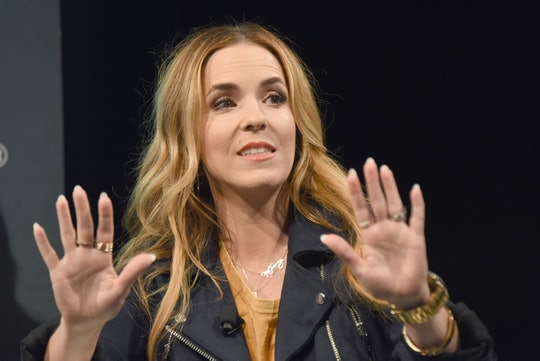 AUSTIN, TX - MARCH 09:  Rachel Hollis speaks onstage at Featured Session Own Your Story, Own Your Strength with Rachel Hollis during the 2019 SXSW Conference and Festivals at Austin Convention Center on March 9, 2019 in Austin, Texas.  (Photo by Dave Pedley/Getty Images for SXSW)