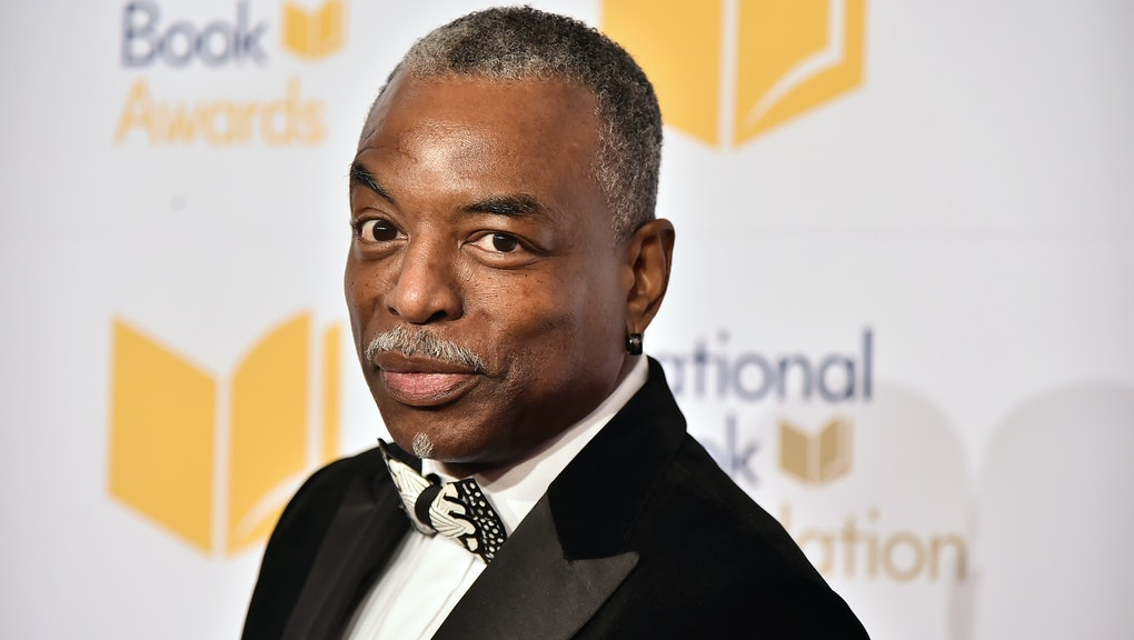 NEW YORK, NEW YORK - NOVEMBER 20:  LeVar Burton attends the 70th National Book Awards Ceremony & Benefit Dinner at Cipriani Wall Street on November 20, 2019 in New York City. (Photo by Theo Wargo/WireImage)