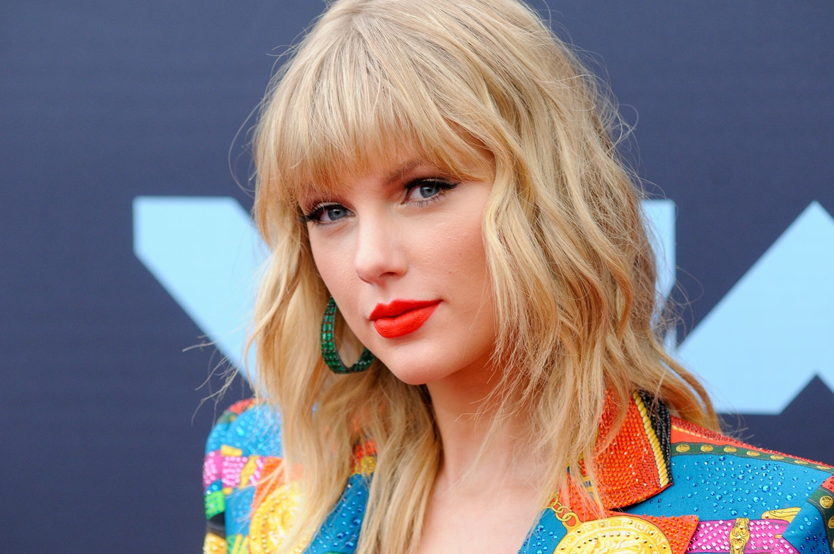 PRUDENTIAL CENTER, NEWARK, NEW JERSEY, UNITED STATES - 2019/08/26: Taylor Swift attends the 2019 MTV...