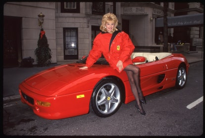 Ivana & Ferrari at an unspecified event, undated. (Photo by David Allen/Getty Images)
