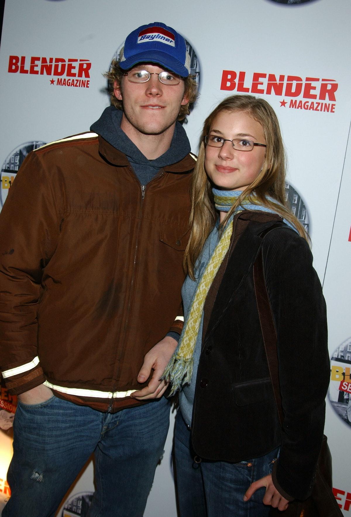 Chris Pratt and Emily VanCamp (Photo by George Pimentel/WireImage)