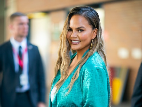 NEW YORK, NEW YORK - JUNE 23: Chrissy Teigen attends POPSUGAR Play/Ground at Pier 94 in Midtown on June 23, 2019 in New York City. (Photo by Gotham/GC Images)