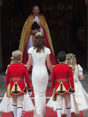 Pippa Middleton and her backside found fame at the 2011 royal wedding.