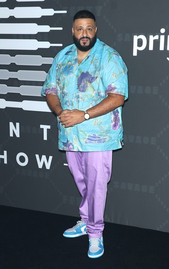 NEW YORK, NEW YORK - SEPTEMBER 10: DJ Khaled attends the Savage x Fenty arrivals during New York Fashion Week at Barclays Center on September 10, 2019 in New York City. (Photo by Jim Spellman/Getty Images)