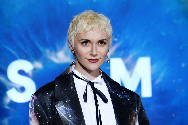 """WESTWOOD, CALIFORNIA - FEBRUARY 26: Actress Alyson Stoner arrives at National Geographic's """"Cosmos: Possible Worlds"""" Los Angeles Premiere at Royce Hall, UCLA on February 26, 2020 in Westwood, California. (Photo by Amanda Edwards/Getty Images)"""