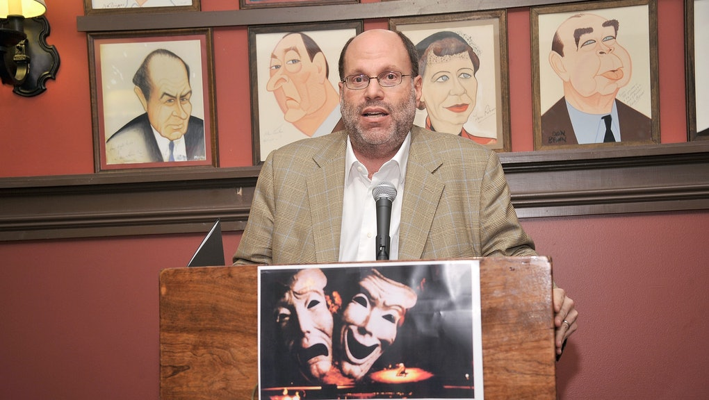 NEW YORK, NY - MAY 24:  Producer Scott Rudin attends the 62nd Annual Outer Critics Circle Awards at Sardi's on May 24, 2012 in New York City.  (Photo by Gary Gershoff/WireImage)