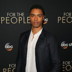 WEST HOLLYWOOD, CA - MARCH 10: Rege-Jean Page attends the premiere of ABC's 'For The People' on March 10, 2018 in West Hollywood, California. (Photo by JB Lacroix/ Getty Images)