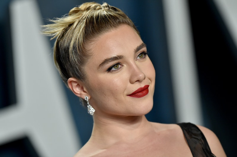 BEVERLY HILLS, CALIFORNIA - FEBRUARY 09: Florence Pugh attends the 2020 Vanity Fair Oscar Party hosted by Radhika Jones at Wallis Annenberg Center for the Performing Arts on February 09, 2020 in Beverly Hills, California. (Photo by Axelle/Bauer-Griffin/FilmMagic)
