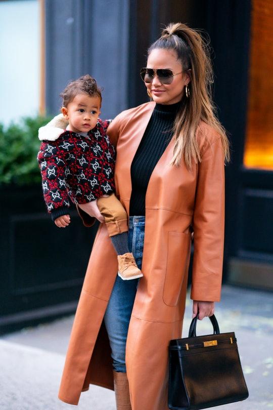 Chrissy Teigen is raising son Miles to be in touch with his emotions.