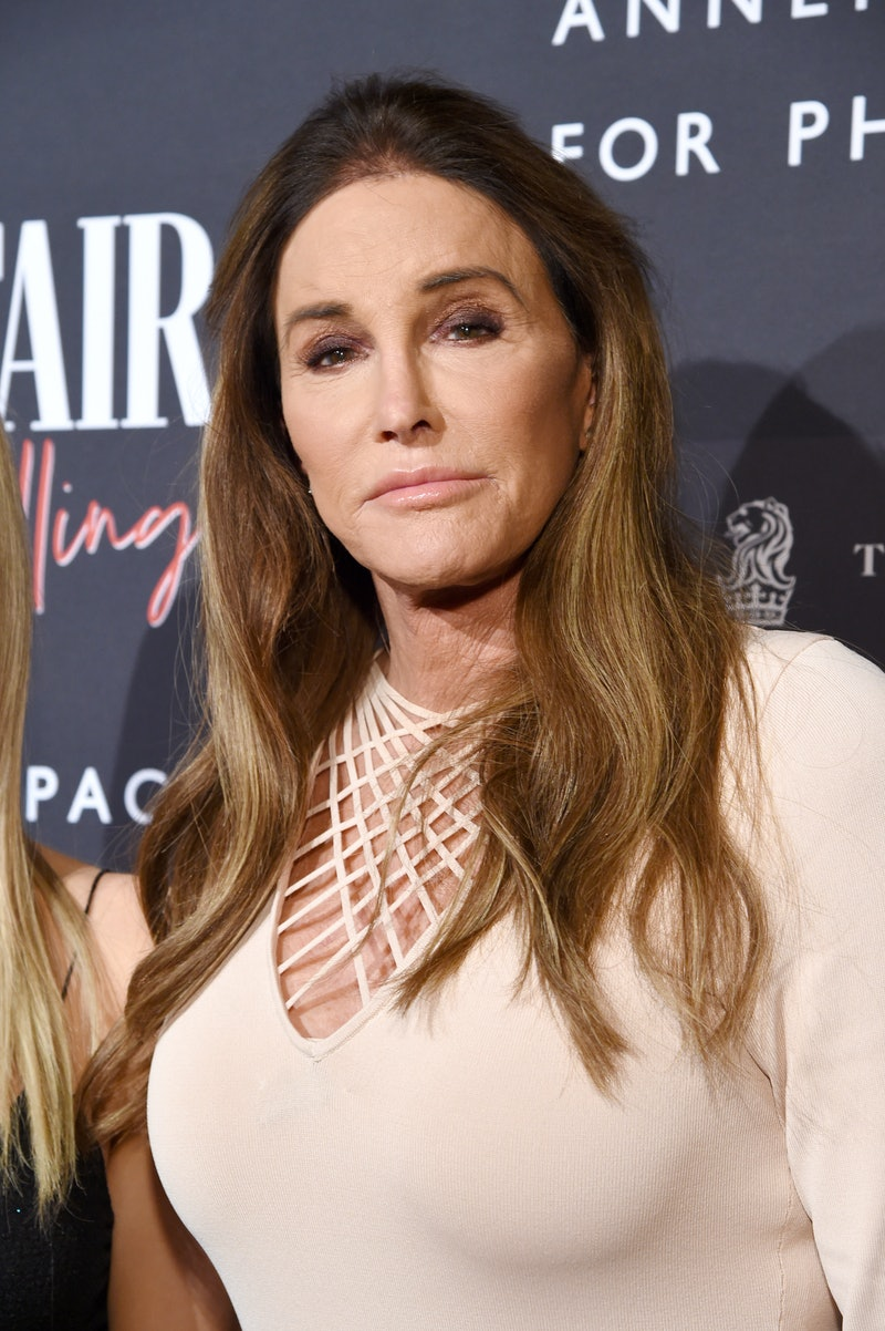 CENTURY CITY, CALIFORNIA - FEBRUARY 04: Caitlyn Jenner as the Vanity Fair And Annenberg Space For Photography Celebrate The Opening Of Vanity Fair: Hollywood Calling, Sponsored By The Ritz-Carlton at Annenberg Space For Photography on February 04, 2020 in Century City, California. (Photo by Michael Kovac/Getty Images for Annenberg Foundation)