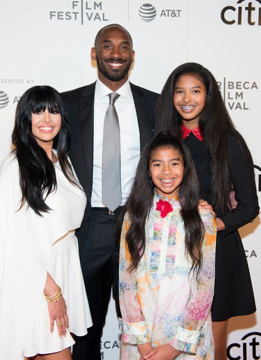 """Kobe Bryant's daughter is apparently his """"twin,"""" according to mom Vanessa."""