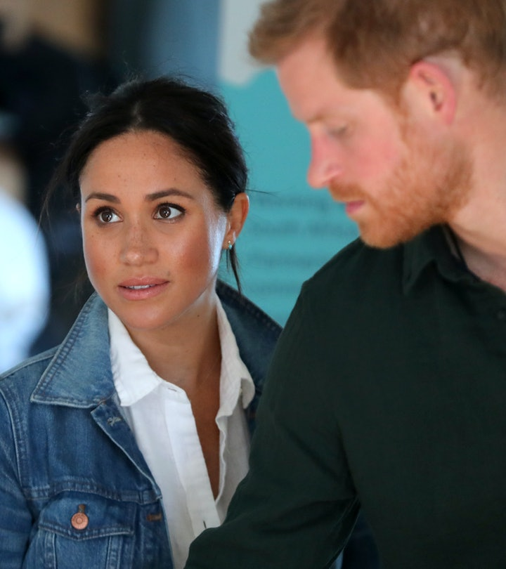 Meghan, Duchess of Sussex and Prince Harry, Duke of Sussex visit Waves for Change, an NGO, at Monwabisi Beach on September 24, 2019 in Cape Town, South Africa. Waves for Change supports local surf mentors to provide mental health services to vulnerable young people living in under resourced communities. (Photo by Chris Jackson - Pool/Getty Images)